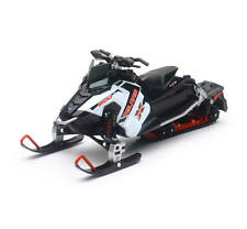 New Ray Toys 1:16 Scale Polaris Swtichback Pro-X 800 Snowmobile Sled Model White