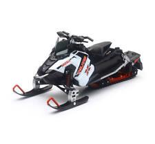 New Ray Toys 1:16 Scale Polaris Swtichback Pro-X 800 Snowmobile Sled Model White
