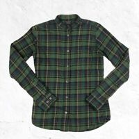 CC Filson Long Sleeve Button Front Plaid Flannel Shirt Womens Size Small