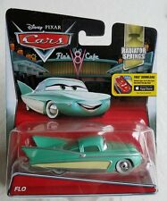 Disney Pixar Cars Radiator Springs Flo Motorama Girl 50's Cars w/Fins New MISP