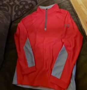 Under Armour Long Sleeve Half Zip Up Size Medium YMD NEW