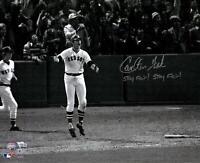 C.Fisk Boston Red Sox Signed 16x20 HR Photo w/Stay Fair! Stay Fair Insc -
