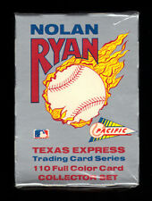 "1991 PACIFIC NOLAN RYAN ""TEXAS EXPRESS"" FACTORY SEALED COMPLETE 110 CARD SET"