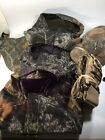 Hunting Camouflage Shooting Accessories 4 Hoods, Hat, Ammo Belt