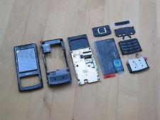 Original Nokia 6500 Slide komplett Cover | Akkudeckel | Tastatur Schwarz NEU