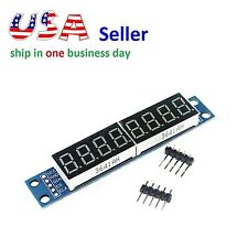 MAX7219 8 Bit 7-Segment Digital Tube Red Display Control Module for Arduino