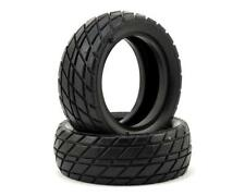CSW6208 Custom Works Sticker Dirt Oval Front Tires (2) (HB)