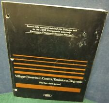 i 1993 Ford Villager Powertrain Control/Emissions Diagnosis Service Manual
