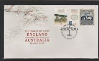 AUSTRALIA 2019 - Centenary of FIRST ENGLAND to AUSTRALIA FLIGHT Set on FDC