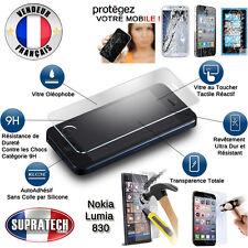 Protection d'Ecran en Verre Trempé Contre les Chocs pour Nokia Lumia 830