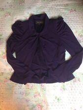 Stunning PHASE EIGHT rich purple Blazer/ Jacket-size 12. VGC