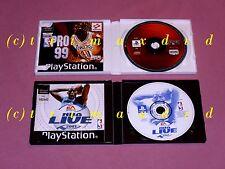 2x ps1 _ NBA Live 2001 & NBA pro 99 _ sobre 1000 juegos adicionales en la tienda