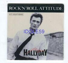 CD de musique emballés rock 'n' roll Johnny Hallyday