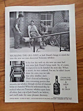 1969 Jack Daniels Tennessee Whiskey Ad Recalling the Old Days