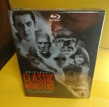 Universal Classic Monsters:The Essential Collection (Blu-ray Boxset,8-Discs)NEW~