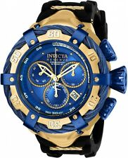 Invicta Reserve Men's 52mm Thunder bolt Swiss Quartz Chronograph Strap Watch