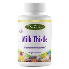 Paradise Herbs Milk Thistle 60 Veg Capsules