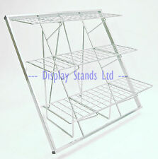 Foldable & portable 3 shelf heavy duty Retail Shop/Market/Car boot display (K90)