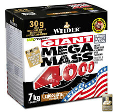 Weider Giant Mega Mass 4000 7000g Chocolate