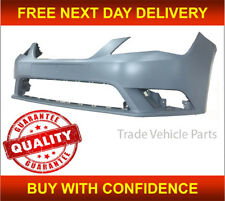 Seat Leon 2013-2017 Front Bumper Primed Insurance Approved No Pdc / Washer Holes