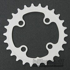 FSA 26 Tooth Steel 64 BCD Chainring 26T 4 Bolt Silver Mega Exo Inner MTB 8/9 Spd