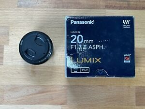 Panasonic Lumix G 20mm f/1.7 ASPH Lens for Micro Four Thirds - Very Nice!