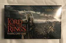 lord of the rings trading card game decipher Realms Of The Elf-lords Sealed Box
