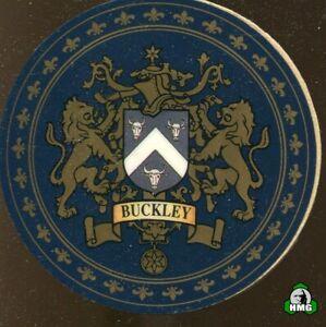 English Heraldic Coaster: Buckley