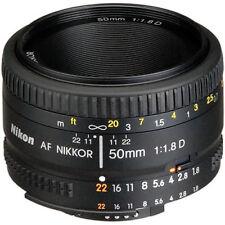 NEW Nikon AF Nikkor 50mm f/1.8D Lens for DSLR Cameras + ROR Cleaning Solution*