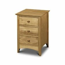 Pine 61cm-65cm Bedside Tables & Cabinets with 3 Drawers
