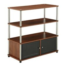 Convenience Concepts Designs2Go Highboy TV Stand, Cherry - 151239CH