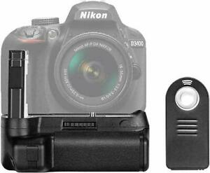 Neewer Battery Grip & remote control for Nikon D3400 camera BRAND NEW SEALED