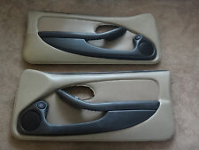 *AS IS READ!!!!* 00-02 Firebird Medium Neutral Ebony Door Panel Card Tan Leather