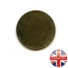A British Bronze 1894 VICTORIA FARTHING Coin                    (Ref:1894_360/1)