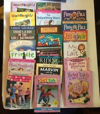 Lot of 21 Children's Reading Books Paperbacks
