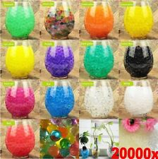 1000PCS Water Balls Crystal Pearls Jelly Gel Beads for Orbeez Toys Refill Decor