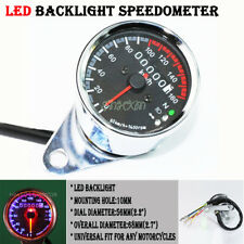 Motorcycle Mechanical 0~160Km/h LED Speedometer Gauge Odometer Fit For Honda