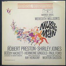 Meredith Willson's THE MUSIC MAN soundtrack LP 1962 Ray Heindorf Robert Preston