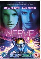 Nerve DVD (2016) Emma Roberts ***NEW***