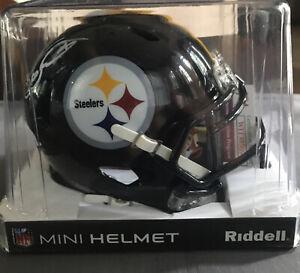 Kordell Stewart Signed Pittsburgh Steelers Speed Mini Football Helmet JSA Cert