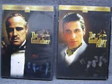 The Godfather & The Godfather Part Ii Dvds