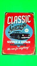 Home Garage Wall Decor Metal Tin SIGN Plaque (CLASSIC Garage SERVICE & REPAIR)