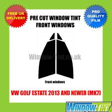 VW GOLF ESTATE 2013+ (MK7) FRONT PRE CUT WINDOW TINT