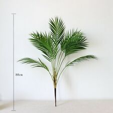 Green Palm Leaf Artificial 90CM Plastic Plants Garden Home Decoration