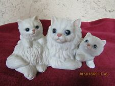 Vintage Mommy Cat W/2 Kittens Homco #1412 Figurine