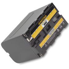 PATONA Akku für Sony NP-F970 F960 F550 F330 F-970 960 330 550 - 6600mAh Li-ion