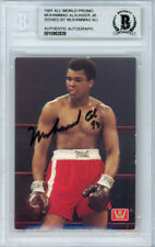 Muhammad Ali Autographed Signed 1991 All World Card Beckett BAS #10982639