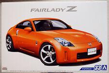 Aoshima 053089 2005 Nissan Fairlady Z Z-33 JDM 1:24