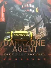 Virtual Toys The Dark Zone Renegade Yellow Hazardous Bag loose 1/6th scale