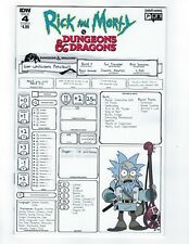 RICK & MORTY VS DUNGEONS & DRAGONS # 4 Cover B NM